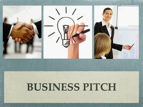 business pitch 5 step guide to make your business pitch myventure in