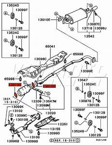 2000 Acura Tl Exhaust System Diagram