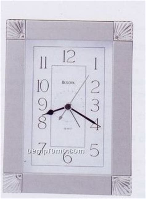 bulova ridgecrest picture frame alarm clock china