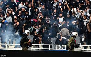 Panathinaikos Greek Cup Win Over Paok Marred By Crowd