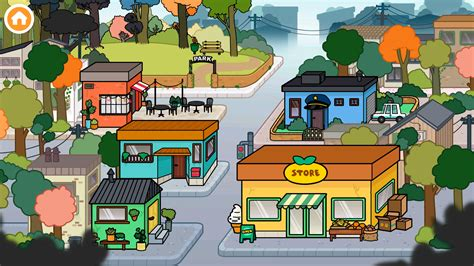 toca town android games   toca town