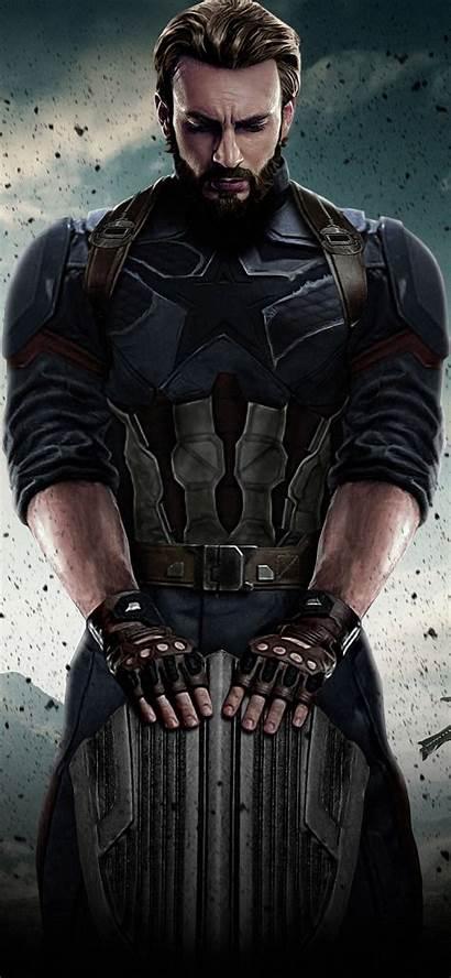 America Captain Avengers Infinity War Iphone Wallpapers