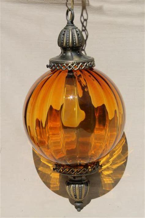 vintage swag lamp hanging light pendant lantern  hand