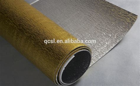 heat resistant laminate heat resistant aluminum foil perforated insulation foam