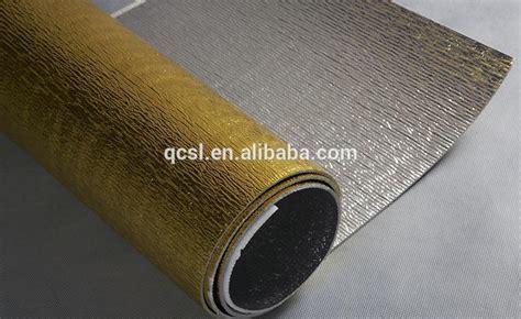 Heat Resistant Aluminum Foil Perforated Insulation Foam