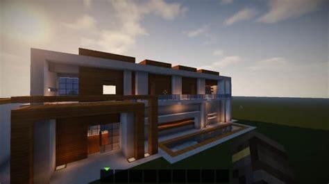 escape modern house minecraft building