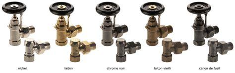 robinetterie pour radiateurs fonte