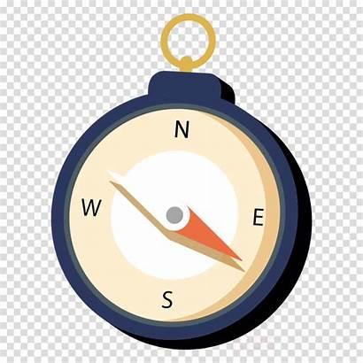 Compass Transparent Drawing Clock Cartoon Clipartmag