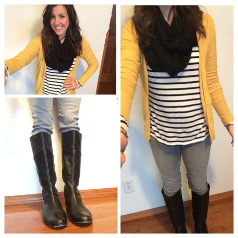 What I Wore Real Mom Style Black and White Striped Shirt #RealMomStyle | Pinterest | Flipping ...