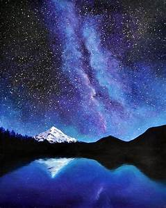 17 Best ideas about Night Sky Painting on Pinterest Sky