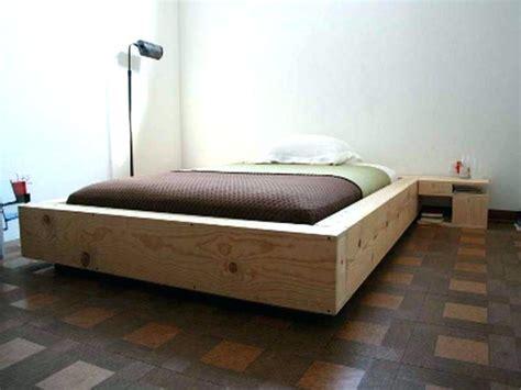 Easy Platform Bed