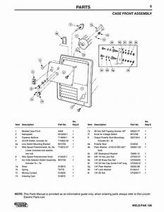 29 Lincoln Weld Pak 100 Parts Diagram