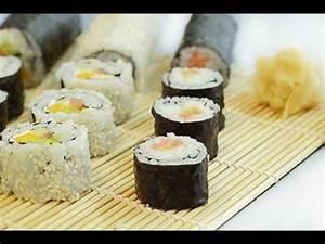 Sushi Selber Machen : sushi selber machen rezept und anleitung youtube ~ A.2002-acura-tl-radio.info Haus und Dekorationen