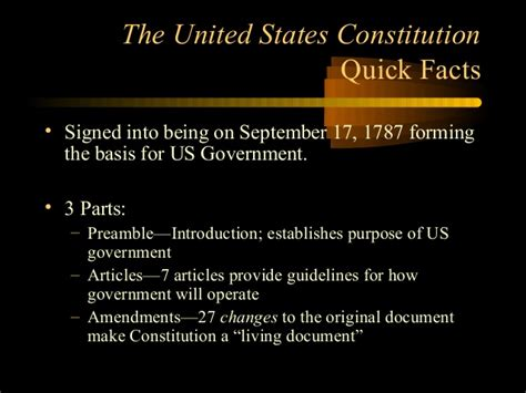 7 Principles Of The Us Constitution