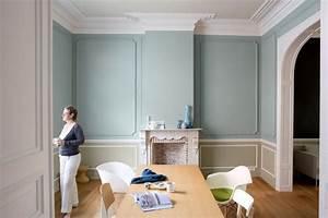 Peindre 2 Murs Sur 4 : peindre une chemine peinture effet mtal dans salon murs ~ Dailycaller-alerts.com Idées de Décoration