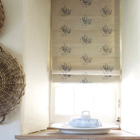 Linen Blinds In Emily Bond Animal Collection Chickens