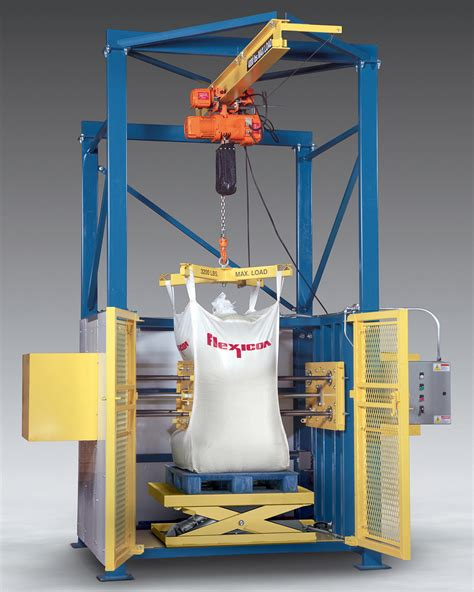 Automated-Bulk-Bag-Conditioner-Loosens-Solidified-Materials