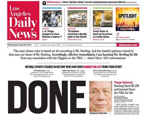 donalds    media responses  sterlings
