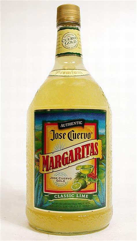 pre mixed margaritas jose cuervo premixed margarita