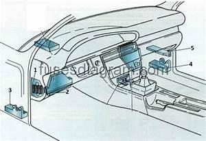 Fuse Box Audi A6  C4