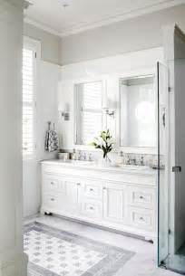 gray and white bathroom ideas brass washstand contemporary bathroom the greenwich hotel