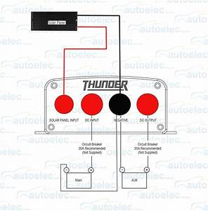 New Model Thunder 12 Volt Dc To Dc 20a Battery Charger