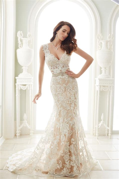 17 Best Ideas About Lace Mermaid Wedding Dress On