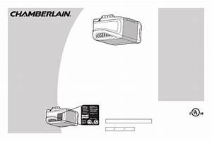 Chamberlain Hd520ev Installation Manual Manual User U0026 39 S