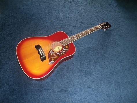 Vintage 1970's Global Hummingbird Acoustic Guitar