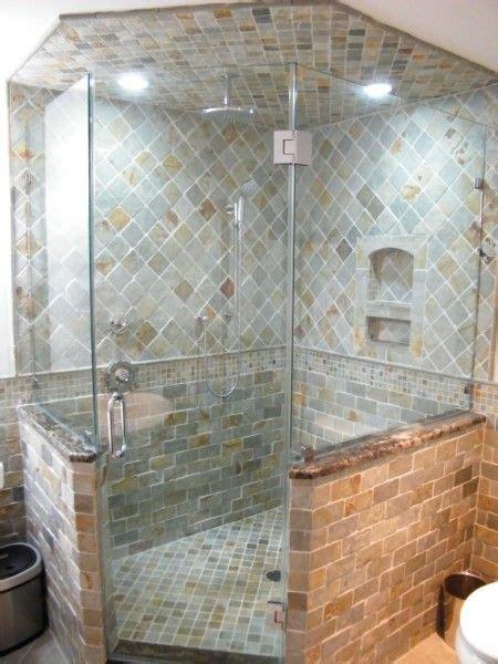 neo angled corner showers lakewood corner shower shower
