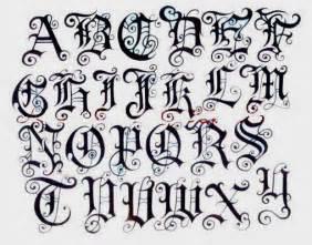 schriftarten design alphabet letters a z variation in paper at graffiti design