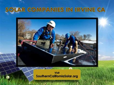 firms in irvine best irvine solar energy companies and solar installers