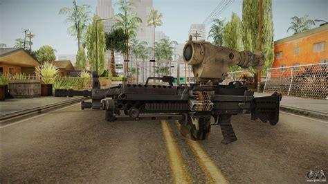 light machine gun   gta san andreas