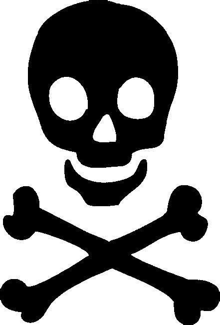 skull stencil | Skull and Crossbones Stencil Girly