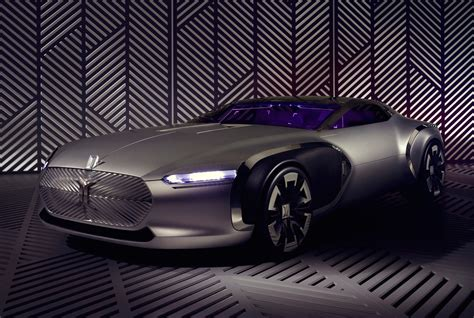 Renault Coupe Corbusier Concept Unveiled Tribute To Le