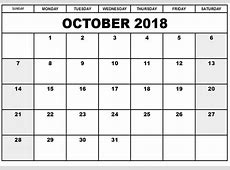 October 2018 Calendar Australia Map Calendar Template