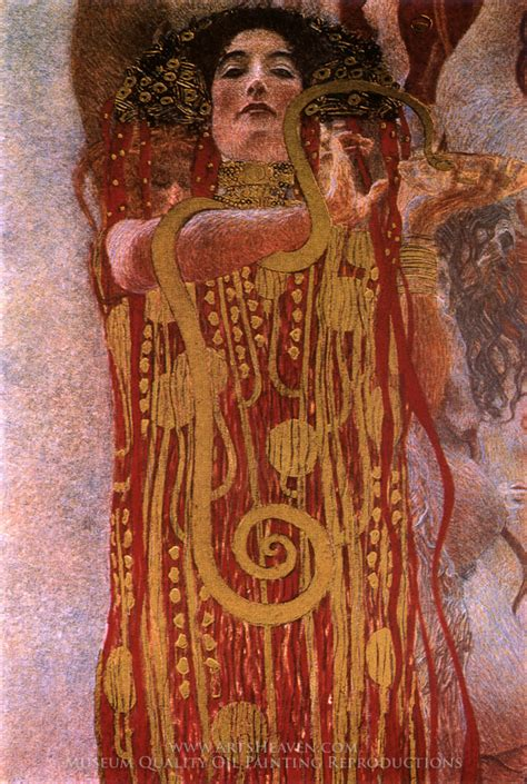 Klimt Of Vienna Ceiling Paintings by Image Gallery Klimt Hygeia