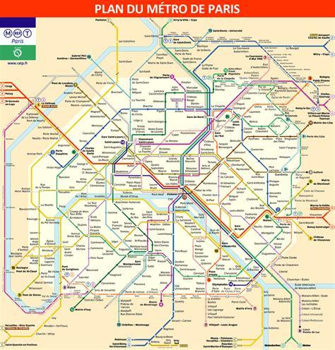 Carte Metro Rer B by Quelques Liens Utiles