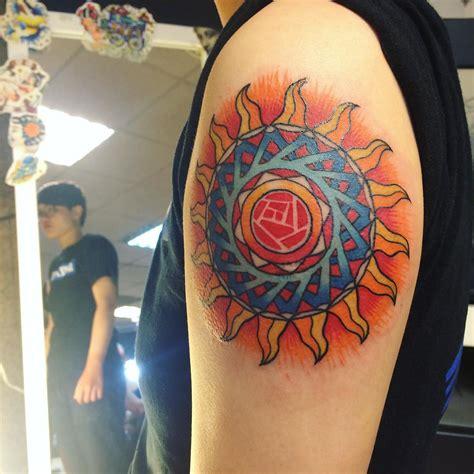 sun tattoo designs meanings symbol