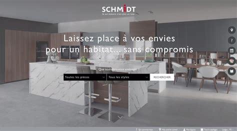 cuisiniste schmidt la marque schmidt dvoile nouveau site web