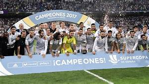 Real Madrid supera al Barcelona para ganar la Supercopa de ...