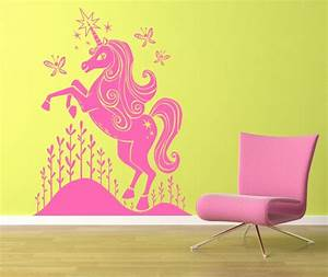 unavailable listing on etsy With unicorn wall decal