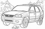 Truck Coloring Pages Ford Printable Lowrider Pickup Colorings Boys Getdrawings Getcolorings sketch template