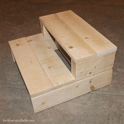 super simple kids diy  wood step stool woodworking