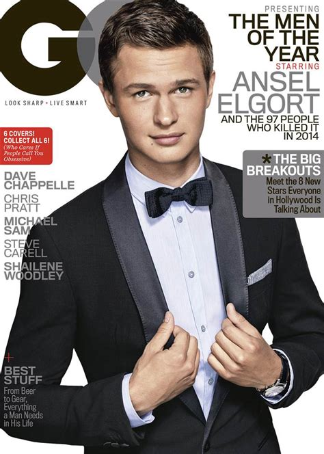 Gq Of The Year by Ansel Elgort Covers Gq 2014 Of The Year Issue