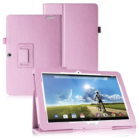 acer tablet cover folding leatehr case cover skin stand for acer iconia tab