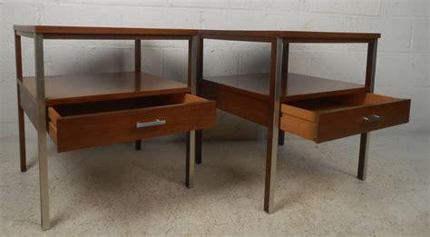 mid century modern nightstands paul mccobb mid century modern nightstands for at 1stdibs