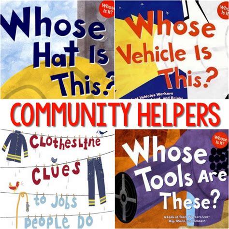 community helper books for preschool pre k pages 384 | Community Helpers Books for Preschool