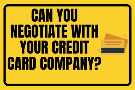 A debt settlement could pull you out of debt even if you can't pay off every penny you owe. Can You Negotiate with Your Credit Card Company? | Creditmergency