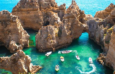 algarve portugal caves beaches